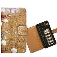 プルームテック ケース PloomTECH 手帳型 海2 B003904_05 砂浜 貝殻 ビーチ サマー 夏