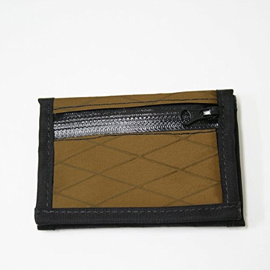スマート比べる勤勉フローフォールド(Flowfold) アウトドア 財布 ドライフォルドワレット ジッパートラベラー リミテッド コヨーテブラウン FFITF02400