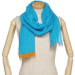 Linen Scarf 1351448: Blue