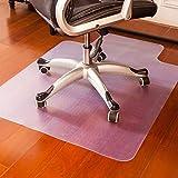mysuntown Mysuntown Office Chair Mat for Hardwood Floor, Home Office Floor Protectors for Gaming Computer Chair Anti-Slip Desk Floor Mats 36'' x 48'' (Chair mat)