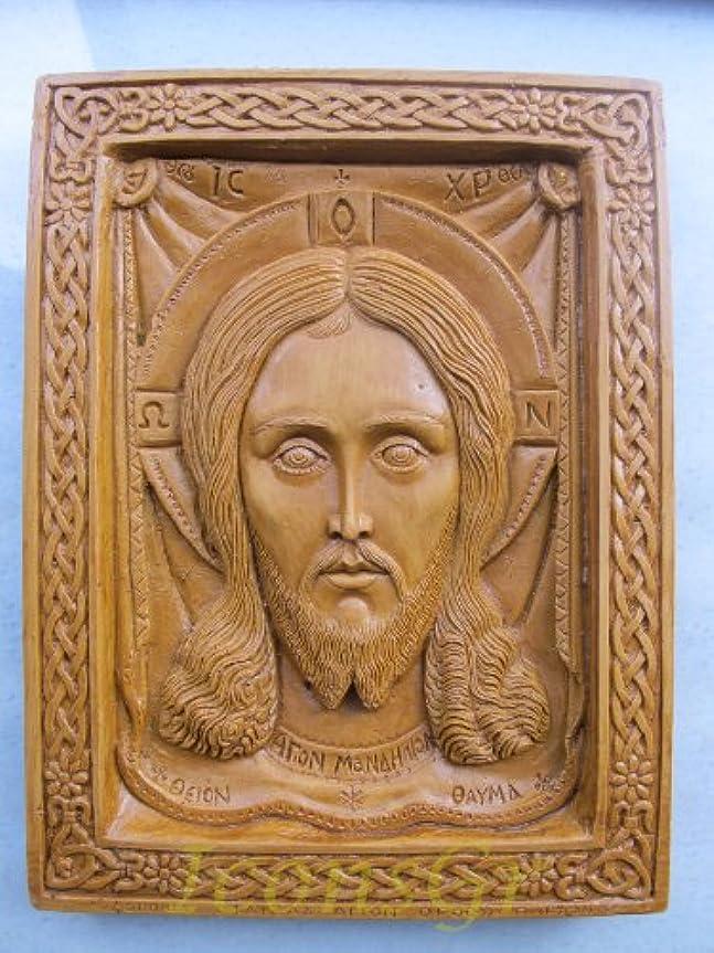 失殺す好きHandmade Carved Aromaticワックスから祝福アイコンアトスのマンディリオン127