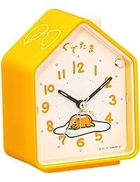 セイコー クロック 目覚まし時計 ぐでたま おしゃべり アナログ 切替式 アラーム 黄 CQ152Y SEIKO
