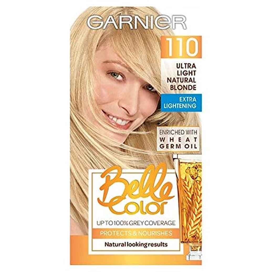 おんどり赤豊富な[Belle Color ] ガーン/ベル/Clr 110超軽量天然ブロンドパーマネント毛髪染料 - Garn/Bel/Clr 110 Ultra Light Natural Blonde Permanent Hair...