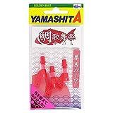ヤマシタ(YAMASHITA) タイラバ 鯛歌舞楽 替玉パーツ レッド #01 568-165 ルアー