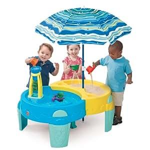 STEP2 ステップ2 シャーディ オアシス サンド&ウォーター プレイ テーブル 水遊び・砂場 【800700】