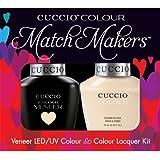 Cuccio MatchMakers Veneer & Lacquer - So So Sofia - 0.43oz/13ml Each