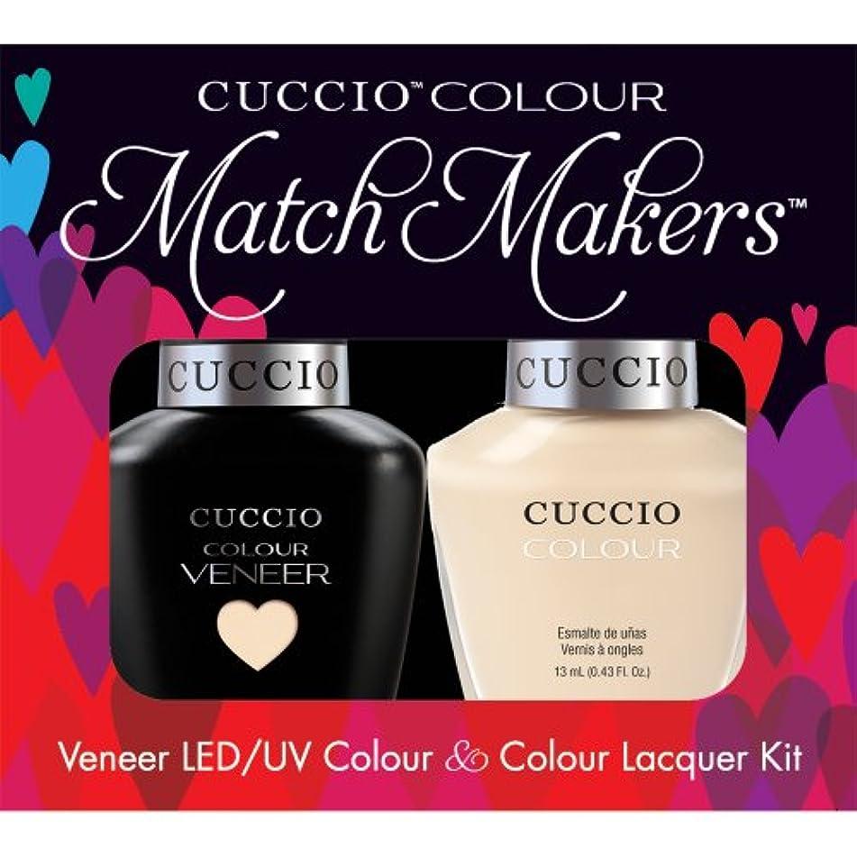 バスルームコンクリート出版Cuccio MatchMakers Veneer & Lacquer - So So Sofia - 0.43oz/13ml Each