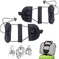 Bag Bungee for Luggage, niceeshop(TM) 2 Pack Add a Luggage Belt and Straps, Adjustable Travel Suitcase Belt Attachment Accessories