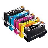 【Amazon.co.jp限定】エコリカ リサイクルインクカートリッジ CANON 5色マルチパック BCI-7e+9/5MP EC-C7E+9/5A (FFP・封筒パッケージ)