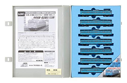 Nゲージ A0441 103系 JR東海 スカイブルー・冷房車 7両セット