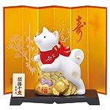 錦彩招福戌(福づくし) 平成30年 干支置物 戌 犬 イヌ91
