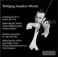 Violin Concertos by W. A. MOZART (2009-06-09)