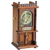 オルゴール ミニアンティーク 古典円盤オルゴール おじいさんの古時計