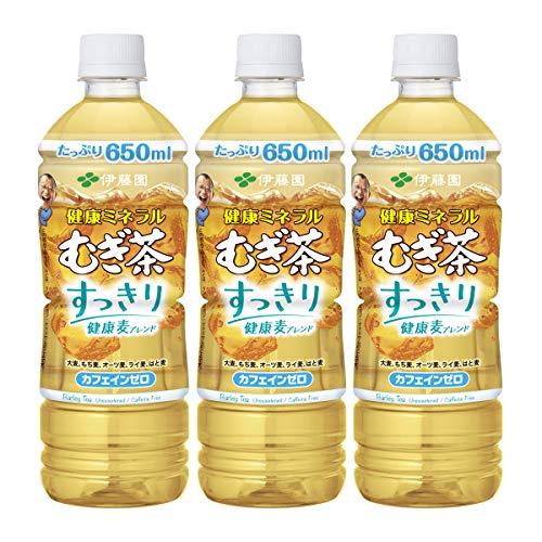 伊藤園 健康ミネラルむぎ茶 すっきり健康麦ブレンド 650ml 1セット(48本)