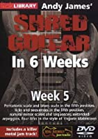 Andy James Shred Guitar in 6 Weeks: Week 5 [DVD] [Import]