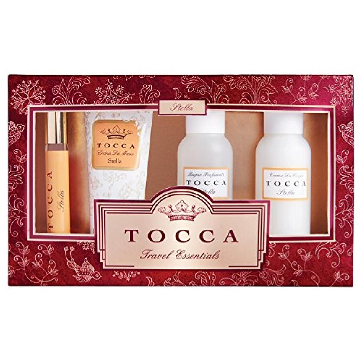 適切に見捨てられた要旨トッカ(TOCCA) トラベルエッセンシャルズセットギルディッド ステラの香り (限定コフレ?ギフト)