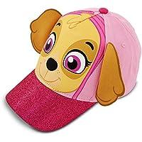 Nickelodeon Girls Paw Patrol Baseball Hat, Cold Weather Hats and Mitten Set Baseball Cap Age 2-4