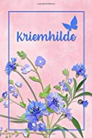 Kriemhilde: Personalized Journal with Her German Name (Mein Tagebuch)