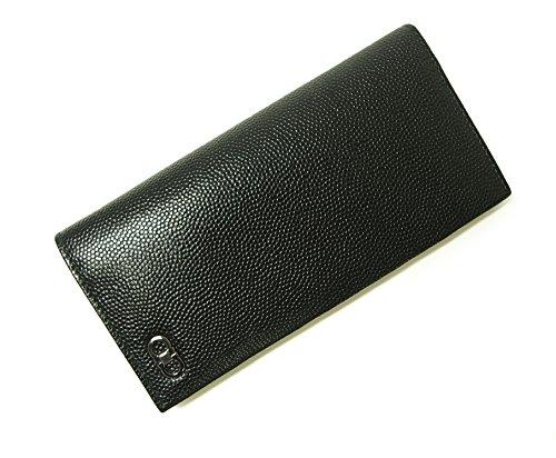 [フェラガモ] 長財布 メンズ 二つ折 カーフ カード大容量 (ブラック) SF-1946 [並行輸入品]