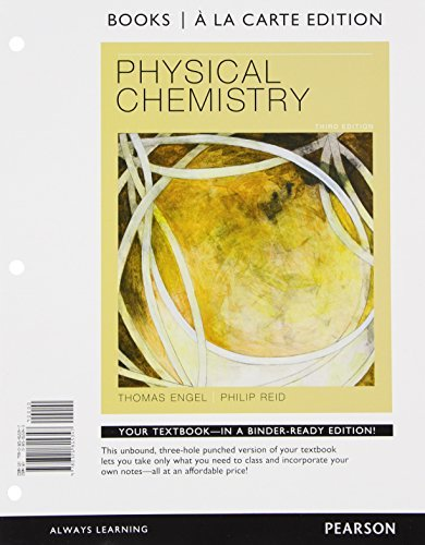 Download Physical Chemistry, Books a la Carte Edition 0321815343