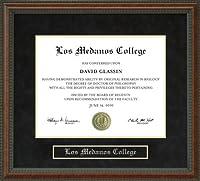 Los大学卒業証書Medanosフレーム ca-medanos-91-burl