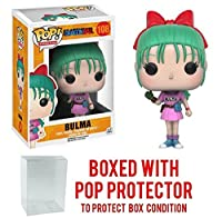 Funko POP 。Anime : Dragonball Z – Bulma Vinyl Figure (バンドルwith Popボックスプロテクターケース)