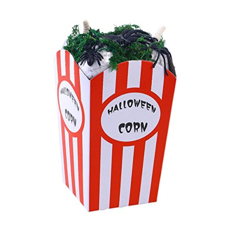 BESTOYARD ハロウィン 蜘蛛 ポップコーンボックスに入り 怖い パ-ティ-小道具 家 バー 飾り