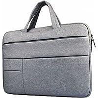 ラップトップ収納バッグ 13-13.3インチMacbook Air Macbook Proケース 耐衝撃撥水加工PCインナーケース ラップトップ/ノートパソコン / MacBook スリーブケース バッグカバー (13-13.3インチ, グレー)