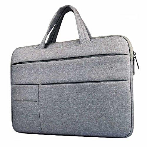 ラップトップ収納バッグ 13-13.3インチMacbook Air Macbook Proケース 耐衝撃撥水加工PCインナーケース ラップトップ/ノートパソコン/MacBook スリーブケース バッグカバー (13-13.3インチ, グレー)