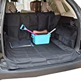 DOBEST Car Boot Liners for Dogs - Pet Back Seat Cover Trunk Protector Boot Cover - Non Slip/Waterproof - Universal for Cars/Trucks/SUVs