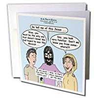 リッチDiesslins面白い漫画Gospel漫画–Luke 24–13–35–On the Road to Emmaus–グリーティングカード Set of 12 Greeting Cards