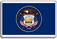 Flag Of Utah (Enhanced Variant) - Flags of the U.S. states fridge magnet - ?????????
