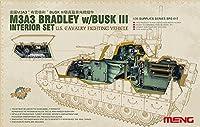 モンモデル 1/35 M3A3 ブラッドレーBUSKIII インテリアセット プラモデル