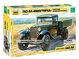 ズベズダ 1/35 ソビエト軍 ライトトラック GAZ-AA プラモデル ZV3602