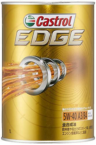カストロール エンジンオイル EDGE 5W-40 1L 4輪ガソリン/ディーゼル車両用全合成油 SN Castrol
