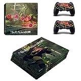 「PS4 pro プロ 専用スキンシールΓNieR:Automata(ニーア オートマタ) 」 本体用 + コントローラー用 × 2枚 ノーブランド 0103 [並行輸入品]」の画像