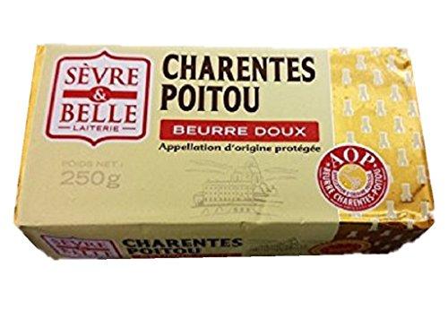フランス ポワトゥーシャラン産 セーブル(Sevre) AOC 無塩バター 250g