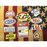 アメリカン モーターサイクルセレクト ステッカー 10枚セット アメリカン雑貨 アメリカ雑貨 世田谷ベース