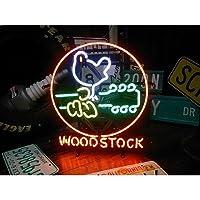 ネオンサイン ウッドストック WOOD STOCK ネオン管 ネオンライト 店舗照明 ガレージ アメリカン雑貨