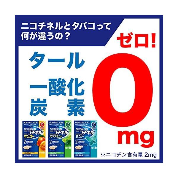 【指定第2類医薬品】ニコチネル ミント 20個...の紹介画像3