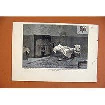 道都市グラスゴーの銀行取締役細胞 C1879 の古い印刷物