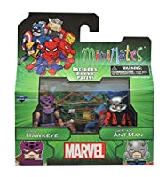 Marvel Minimates Best of Series 3: Hawkeye and Ant-Man Mini Figures by Toy Zany [並行輸入品]