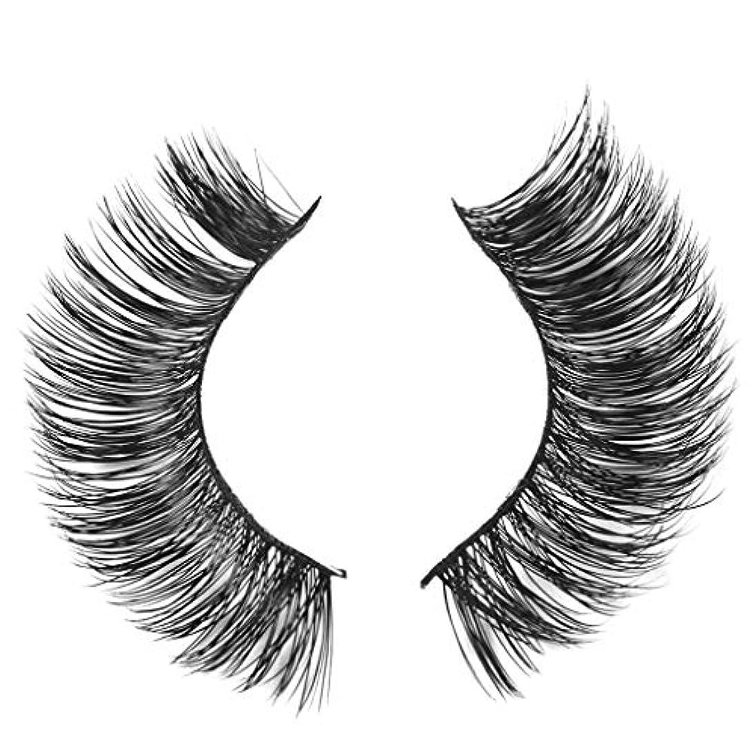 ペデスタル絶え間ない平野ミンクの毛の自然な厚くなる化粧品の3D版のための一組のまつげ
