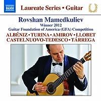 期待の新進演奏家シリーズ/ロヴシャン・マメドクリエフ ギター・リサイタル(Guitar Recital: Mamedkuliev, Rovshan)