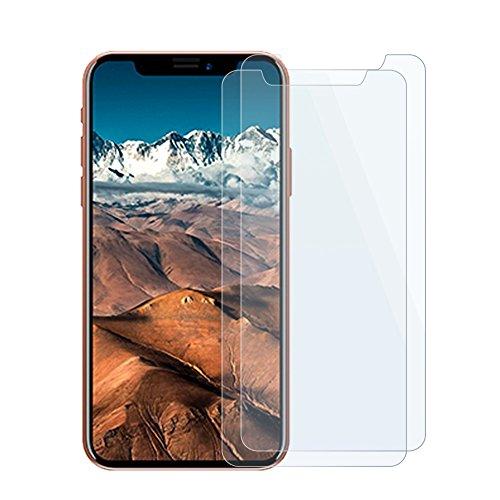 AVIDET For Apple iPhone 8 フィルム iPhone8 ガラスフィルム アイフォン8 9H硬度の液晶保護 2.5D 0.2mm超薄型 日本板硝子社国産ガラス採用 耐指紋 撥油性 高透過率 ラウンドエッジ加工(2枚パック)