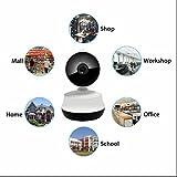ワイヤレス防犯カメラIPカメラ 2ウェイオーディオモニタリング 高輝度IR LED マイク内蔵通信可能 高?量 web IPカメラ アラーム録画 リモートインターコム デジタルズームの 暗視カメラ