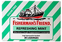 Fisherman's Friend Sugar Free Mint Lozenges, Mint, 38 Count (Pack of 6) by Fisherman's Friend