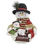 クリスマス雑貨 ぬいぐるみ サンタ スノーマン ディスプレイ