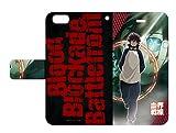 血界戦線 02 レオナルド・ウォッチ 手帳型スマホケース iPhone6/6s/7/8兼用