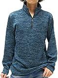 (ノータベネ) NOTA BENE Tシャツ メンズ ニットソー ハーフジップ ジップアップ 裏起毛 4color LL グリーンブルー
